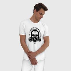 Пижама хлопковая мужская Breaking Bad цвета белый — фото 2