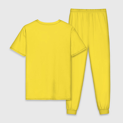 Мужская пижама Хомячок / Желтый – фото 2