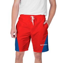 Шорты на шнурке мужские Baywatch Form цвета 3D-принт — фото 1