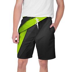 Шорты на шнурке мужские Спортивная геометрия 6 цвета 3D-принт — фото 1