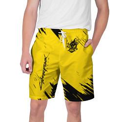 Шорты на шнурке мужские CYBERPUNK 2077 цвета 3D — фото 1