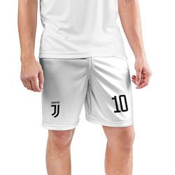 Шорты спортивные мужские Juventus FC: Dybala Home 17/18 цвета 3D — фото 2