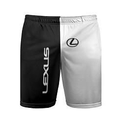 Мужские спортивные шорты Lexus: Black & White