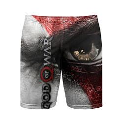 Шорты спортивные мужские God of War: Kratos цвета 3D — фото 1