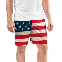Шорты спортивные мужские США цвета 3D — фото 2