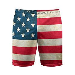 Шорты спортивные мужские США цвета 3D — фото 1