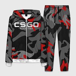 Костюм мужской CS:GO Blood Tiger цвета 3D-белый — фото 1
