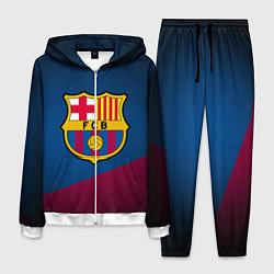 Костюм мужской FCB Barcelona цвета 3D-белый — фото 1