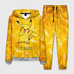 Костюм мужской Pikachu цвета 3D-меланж — фото 1