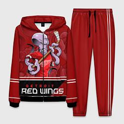 Костюм мужской Detroit Red Wings цвета 3D-черный — фото 1