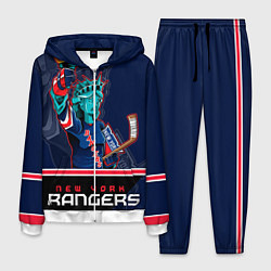 Костюм мужской New York Rangers цвета 3D-белый — фото 1