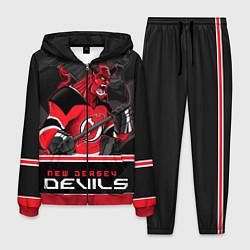 Костюм мужской New Jersey Devils цвета 3D-красный — фото 1