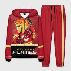 Костюм мужской Calgary Flames цвета 3D-черный — фото 1
