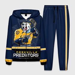Костюм мужской Nashville Predators цвета 3D-черный — фото 1
