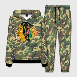 Костюм мужской Blackhawks Camouflage цвета 3D-черный — фото 1