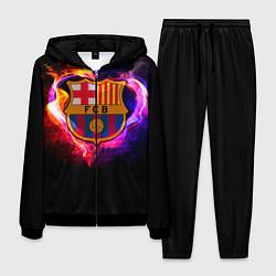 Костюм мужской Barcelona7 цвета 3D-черный — фото 1