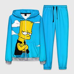 Костюм мужской Задумчивый Барт цвета 3D-меланж — фото 1