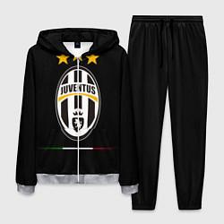 Костюм мужской Juventus: 3 stars цвета 3D-меланж — фото 1