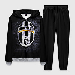 Костюм мужской Juventus: shadows цвета 3D-меланж — фото 1