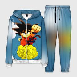 Костюм мужской Small Goku цвета 3D-белый — фото 1