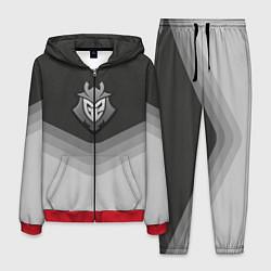 Костюм мужской G2 Esports Uniform цвета 3D-красный — фото 1