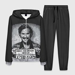 Костюм мужской Pablo Escobar: Smile цвета 3D-меланж — фото 1