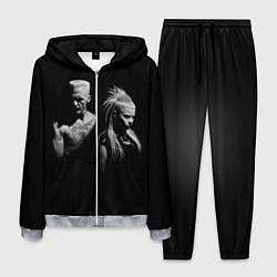 Костюм мужской Die Antwoord: Black цвета 3D-меланж — фото 1