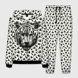 Костюм мужской Tiger Dreams цвета 3D-черный — фото 1