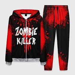 Костюм мужской Zombie Killer цвета 3D-меланж — фото 1