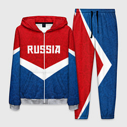 Костюм мужской Russia Team цвета 3D-меланж — фото 1