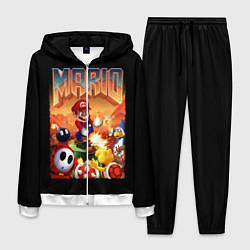 Костюм мужской Mario Doom цвета 3D-белый — фото 1