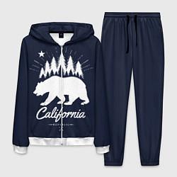 Костюм мужской California Republic цвета 3D-белый — фото 1
