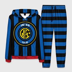 Костюм мужской Inter FC 1908 цвета 3D-красный — фото 1