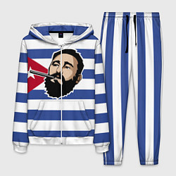 Костюм мужской Fidel Castro цвета 3D-белый — фото 1