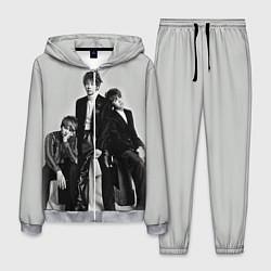 Костюм мужской BTS Grey цвета 3D-меланж — фото 1
