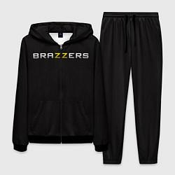 Костюм мужской Brazzers цвета 3D-черный — фото 1