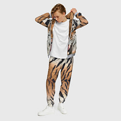 Костюм мужской Свирепый тигр цвета 3D-меланж — фото 2
