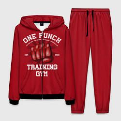 Костюм мужской One Punch Gym цвета 3D-черный — фото 1
