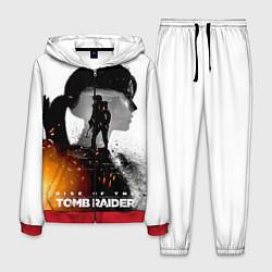 Костюм мужской Rise of the Tomb Raider 1 цвета 3D-красный — фото 1