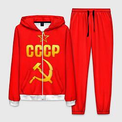 Костюм мужской СССР цвета 3D-белый — фото 1