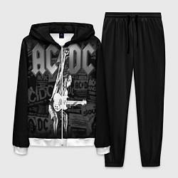 Костюм мужской AC/DC: Rock You цвета 3D-белый — фото 1