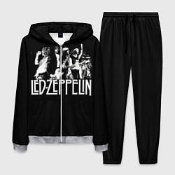 Костюм мужской Led Zeppelin: Mono цвета 3D-меланж — фото 1