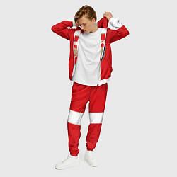Костюм мужской Arsenal FC: Red line цвета 3D-белый — фото 2