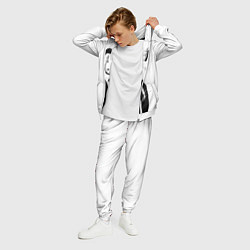 Костюм мужской Киану Ривз цвета 3D-белый — фото 2