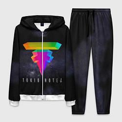 Костюм мужской Tokio Hotel: New Symbol цвета 3D-белый — фото 1