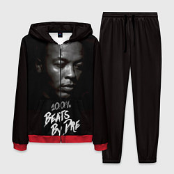 Костюм мужской Dr. Dre: 100% Beats цвета 3D-красный — фото 1
