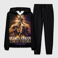 Костюм мужской Mayweather vs McGregor цвета 3D-черный — фото 1