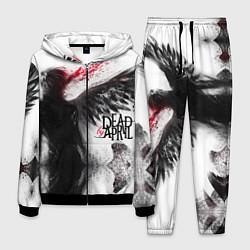 Костюм мужской Dead by April: Black angel цвета 3D-черный — фото 1
