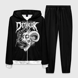 Костюм мужской Dethklok: Goat Skull цвета 3D-белый — фото 1