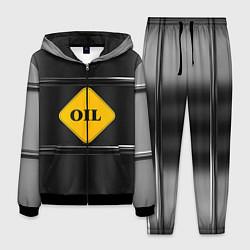 Костюм мужской Oil цвета 3D-черный — фото 1